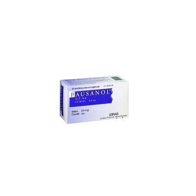 PAUSANOL 0,5 mg emätinpuikko 20 fol