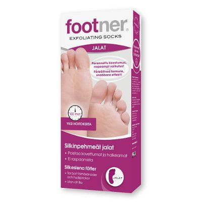 Footner Exfoliating Sock kuorintasukka 1 pari