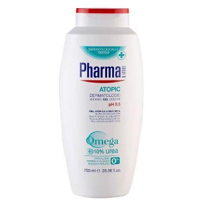 PharmaLine Body Shower Gel Atopic 750 ml