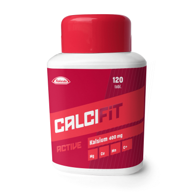 Calcifit Active 400mg 120 tabl