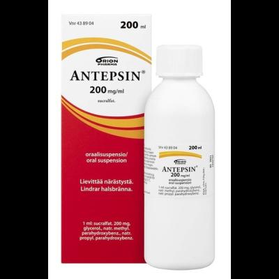 ANTEPSIN 200 mg/ml oraalisusp 200 ml
