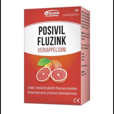 Posivil FluZink Veriappelsiini 40 tabl