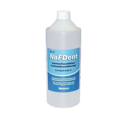 NaFDent liuos 500 ml