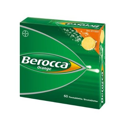 BEROCCA ORANGE poretabl 60 kpl