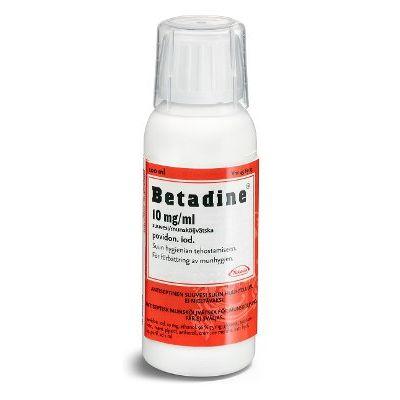 BETADINE 10 mg/ml suuvesi 100 ml