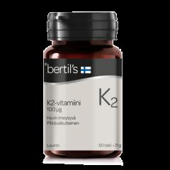 bertils K2-vitamiini 60 tabl
