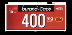 BURANA-CAPS 400 mg kaps, pehmeä 10 fol