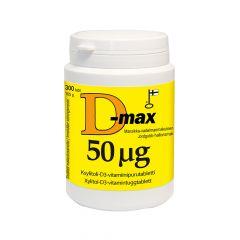 D-max 50 mikrog 300 tabl